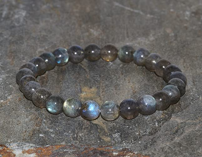 Amazon.com MADAGASCAR LABRADORITE Stretch Bracelet. Stacking Bracelet. Stress Relief. Gift for Her. Balance Bracelet.Protective Bracelet.7mm Wrist Mala ... & Amazon.com: MADAGASCAR LABRADORITE Stretch Bracelet. Stacking ...