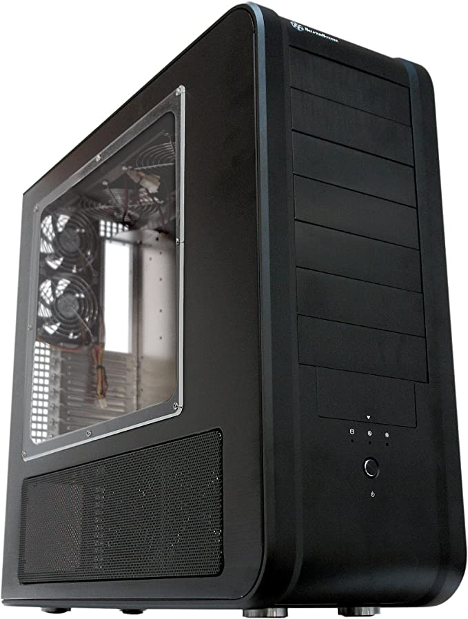 SilverStone TEMJIN TJ07B-W - torre: Amazon.es: Electrónica