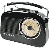 König HAV-TR710BL Portable Noir Radio portable - Radios portables (Portable, AM,FM, 1,5 W, Noir, C, UM-2)