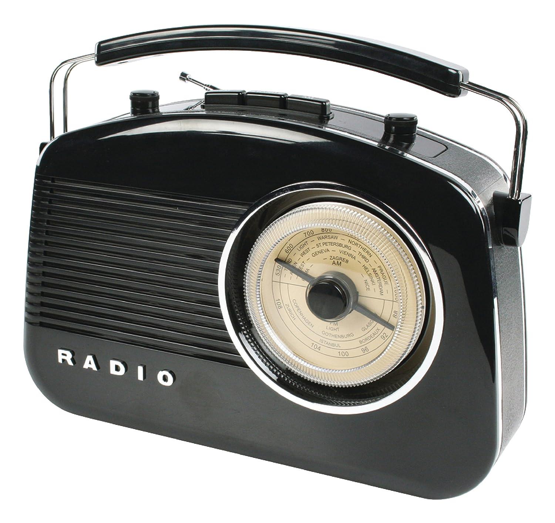 K/önig HAV-TR710BL Radio Portable Noir Radios Portables Portable, AM,FM, 1,5 W, Noir, C, UM-2