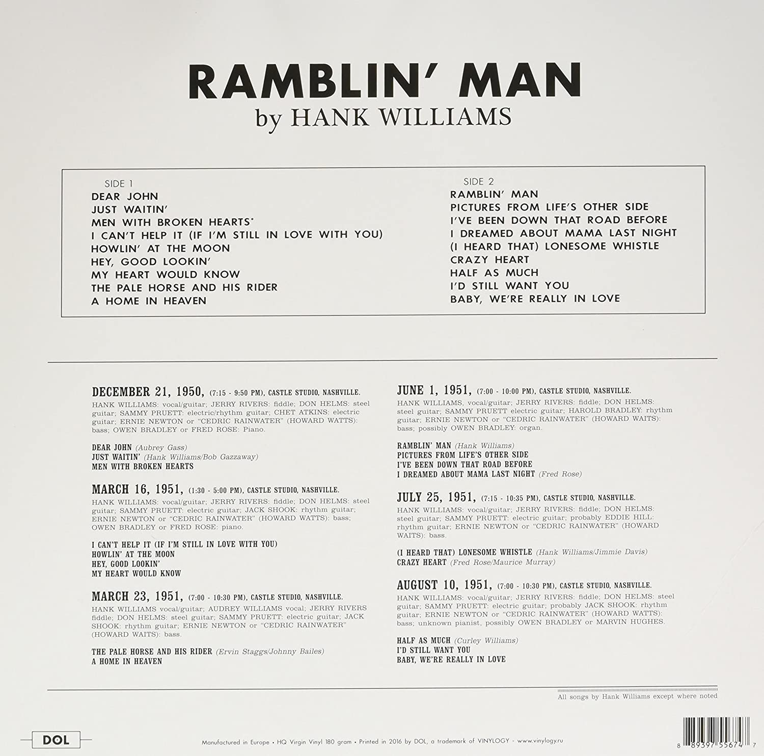 Buy Ramblin Man Online At Low Prices In India Amazon Music Store