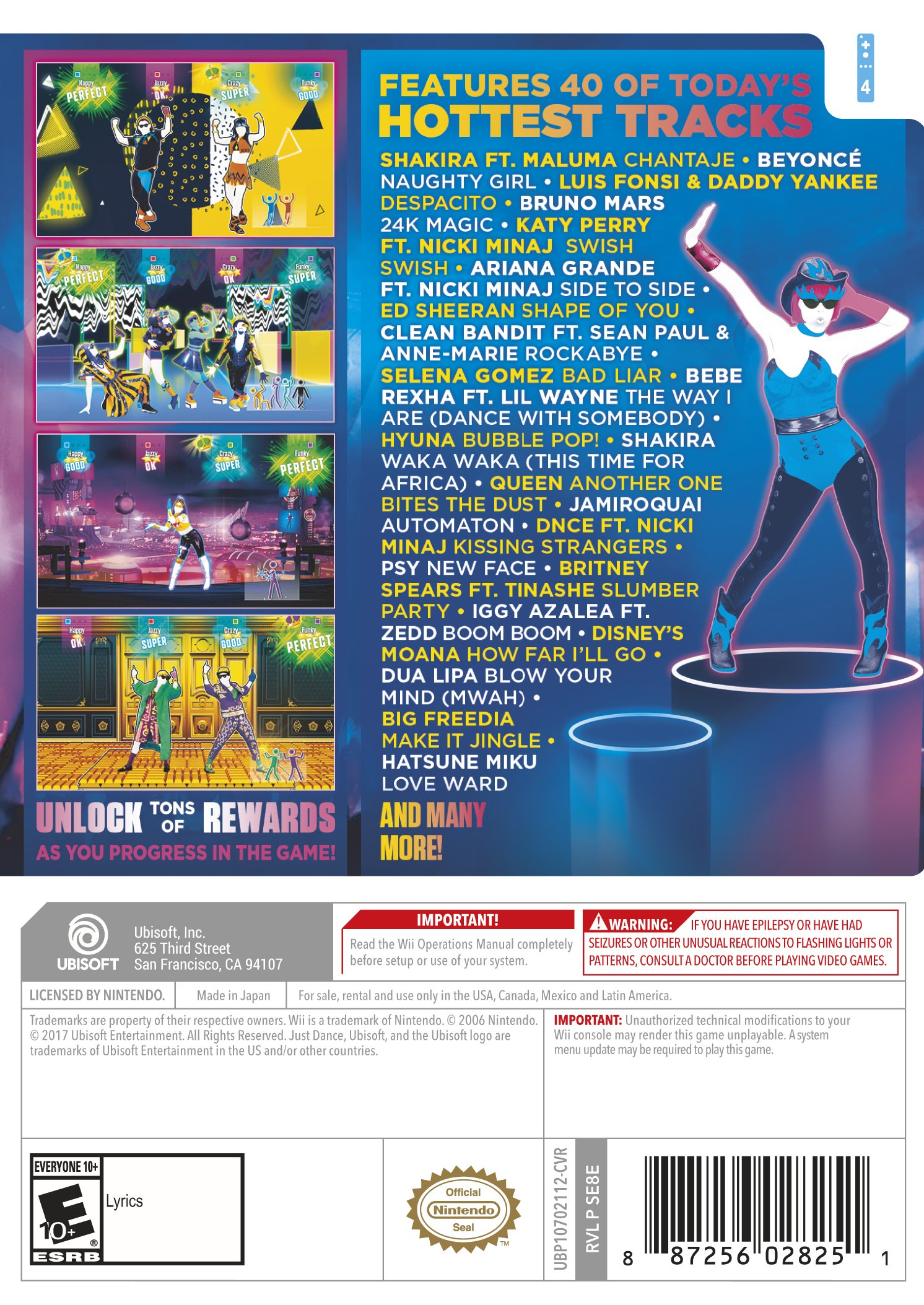 Just Dance 2018 - Wii by Ubisoft (Image #3)