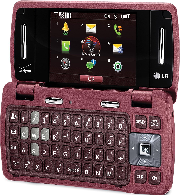 amazon com lg env3 vx9200 phone maroon verizon wireless cell rh amazon com LG Chocolate LG VX9800
