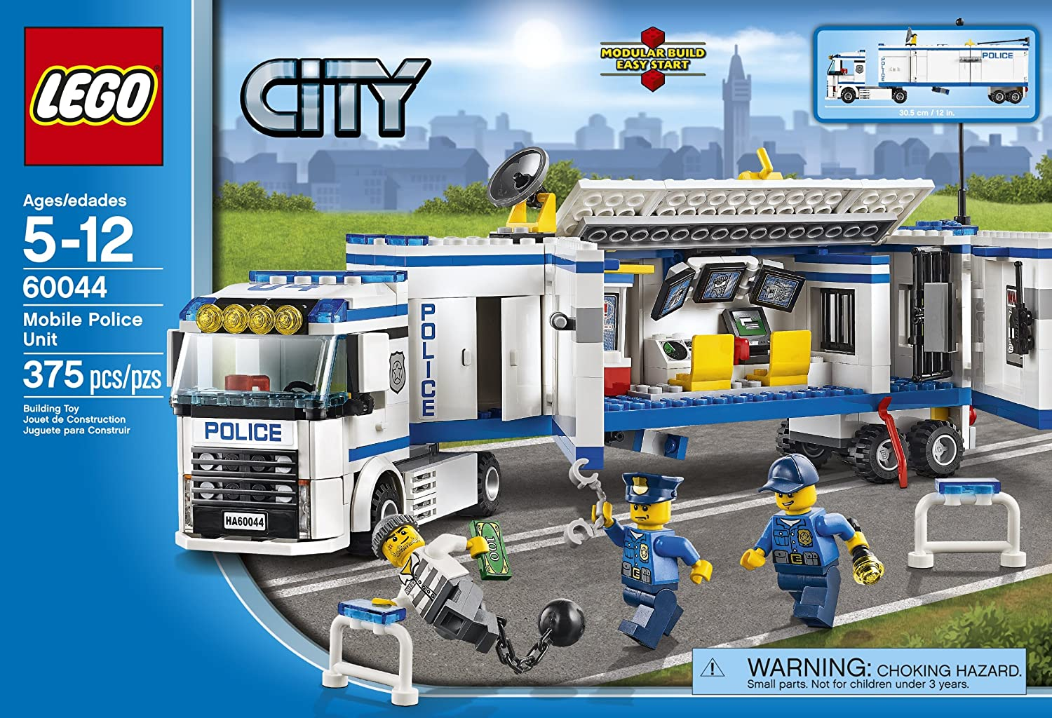 Lego City Police 60044 Mobile Unit Toys Games 60141 Station