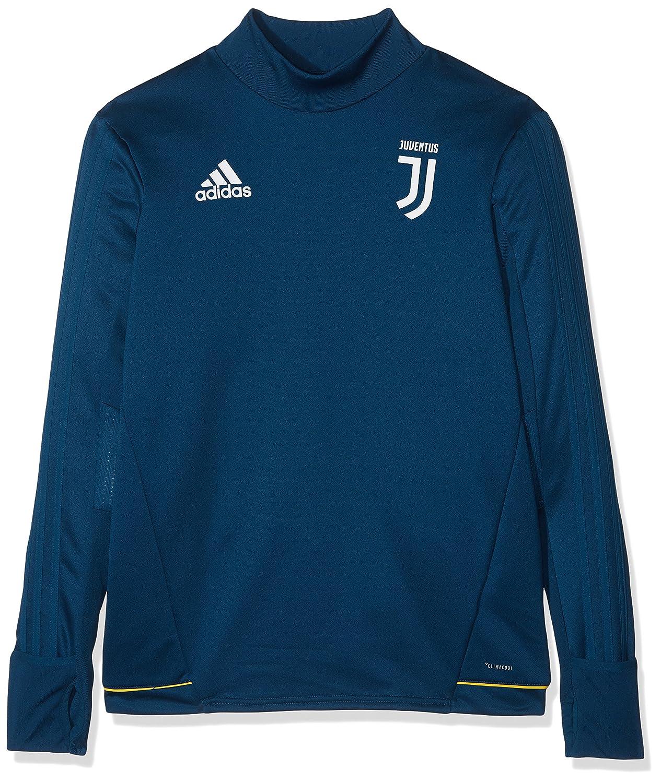 Adidas Juventus TRG Topy, Felpa Bambino, Blu (Azunoc/Bianco), 128 B41304