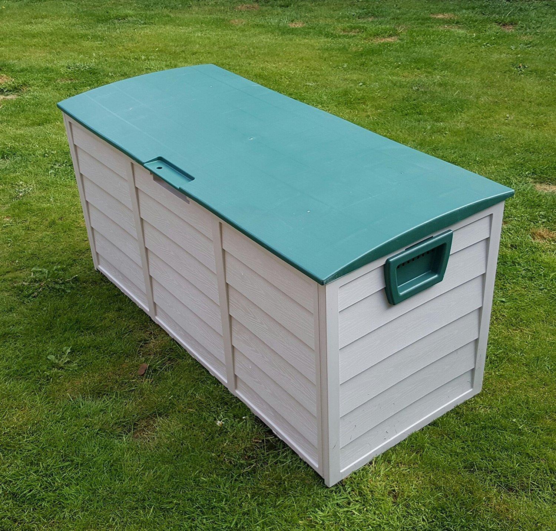 Outdoor Garten Kunststoff Speicher Dienstprogramm Brust Kissen Schuppen Box 248L Home and Garden Products Ltd