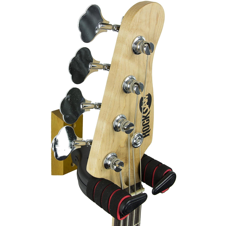 RockJam Hanger Wall Mount Bracket Holder for Acoustic and Electric ...