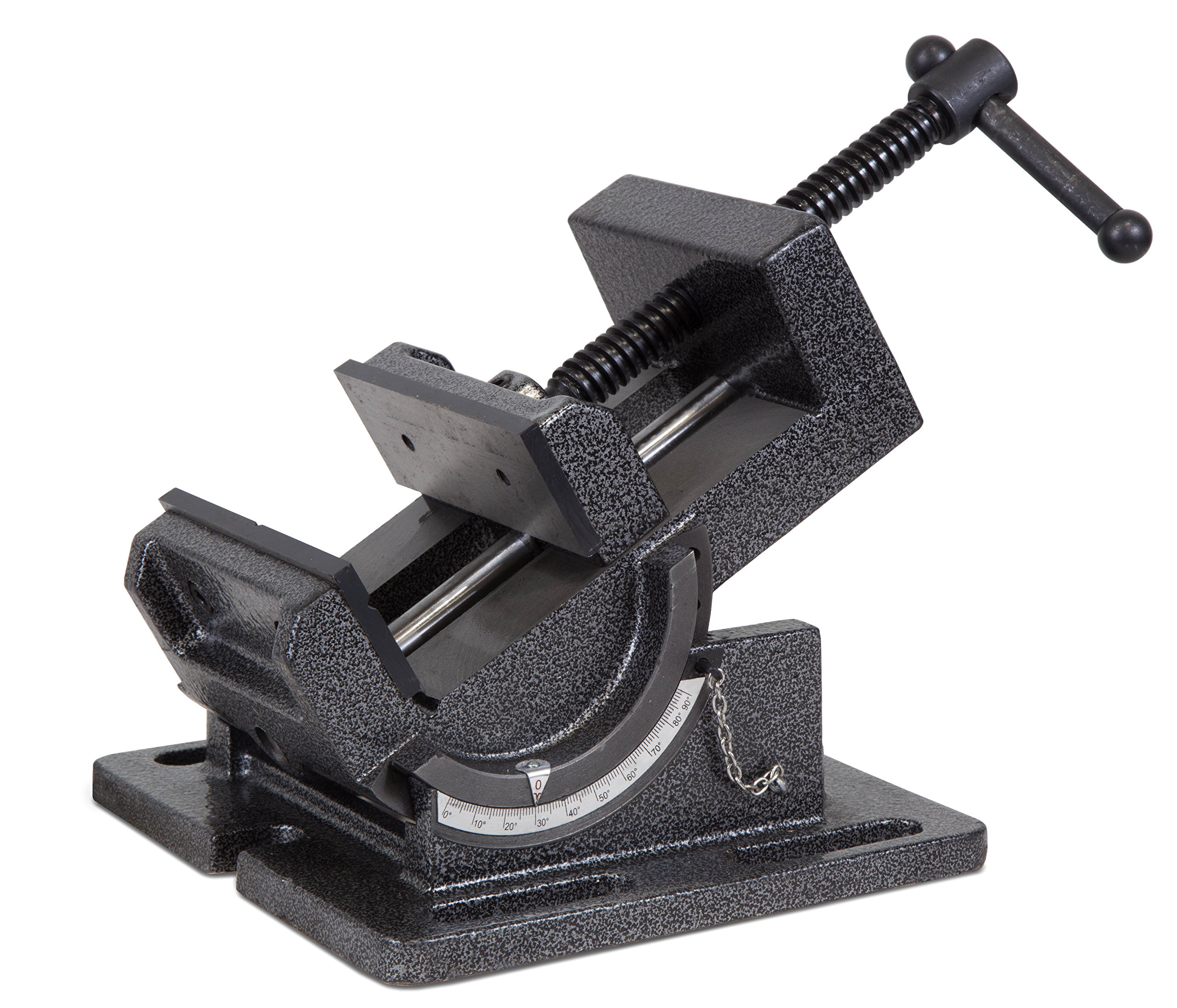 WEN 434TV 4.25-Inch Industrial Strength Benchtop and Drill Press Tilting Angle Vise by WEN