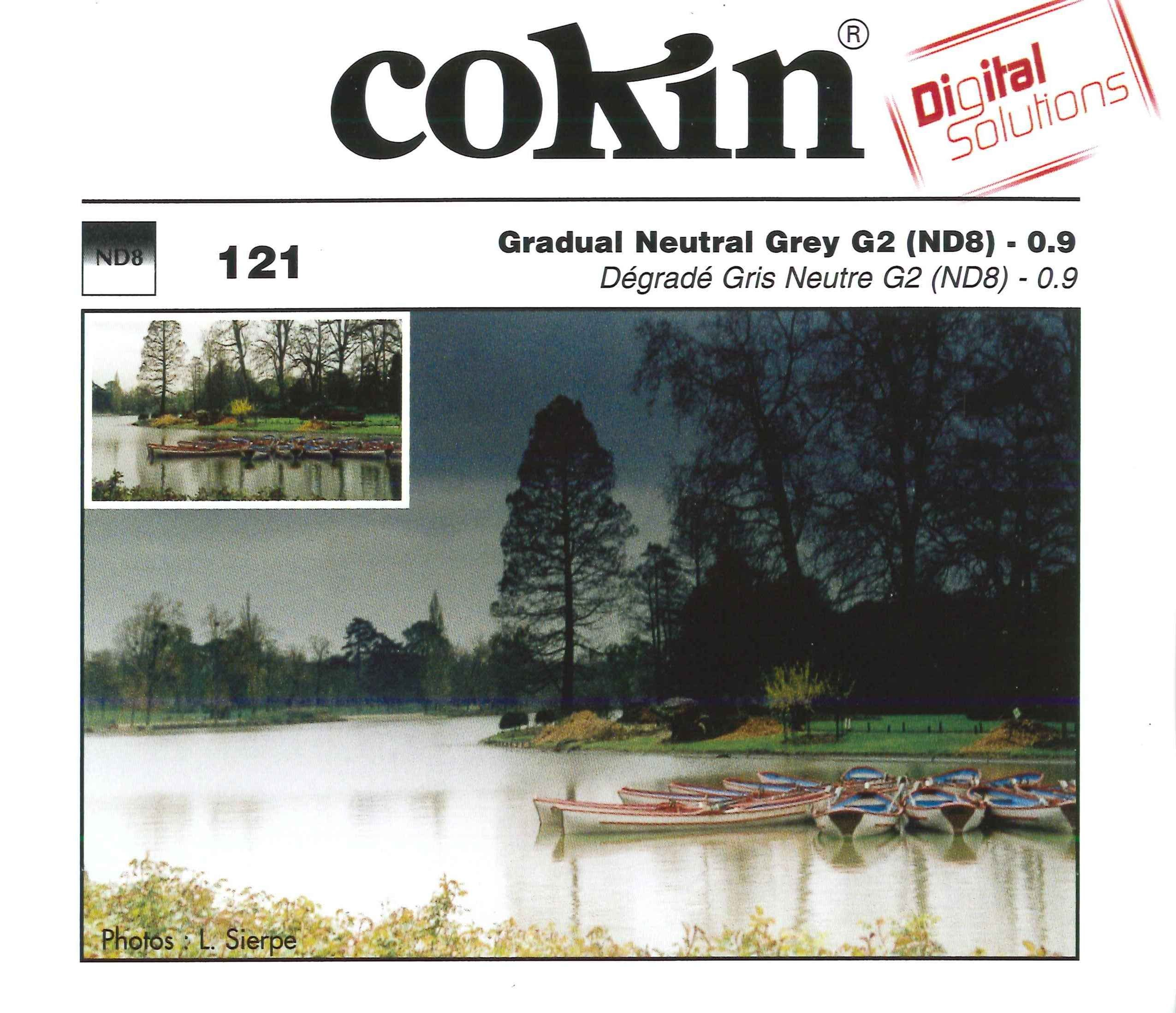 Cokin Creative Filter A121 G2 Grey Graduated by Cokin