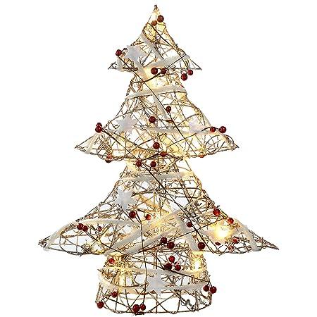 rattan christmas decorations