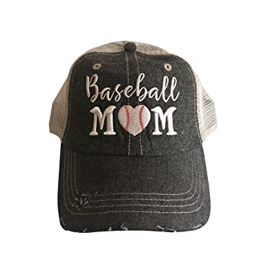 4179c7a4a37 Amazon.com  Cocomo Soul Embroidered Baseball Mom Mesh Trucker Style ...