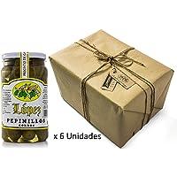 Pack 6 unidades Pepinillos Gordos 20/30 Sabor Anchoa