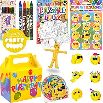 Boys Girls Pre Filled Party Bags For Children Luxury Themed Birthday