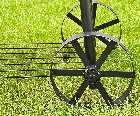 El Fuego Holzkohlegrill//Smoker Dakota 122X133X66 Cm Schwarz