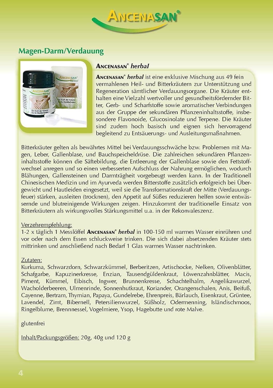 ANCENASAN® herbal / Die Kraft der 49 Kräuter - Glutenfreie ...
