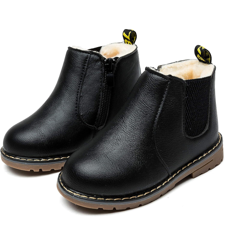 Nasonberg Kinderstiefel Junge Mädchen Winterstiefel Schneestiefel Warme weiche Winterschuhe Boots