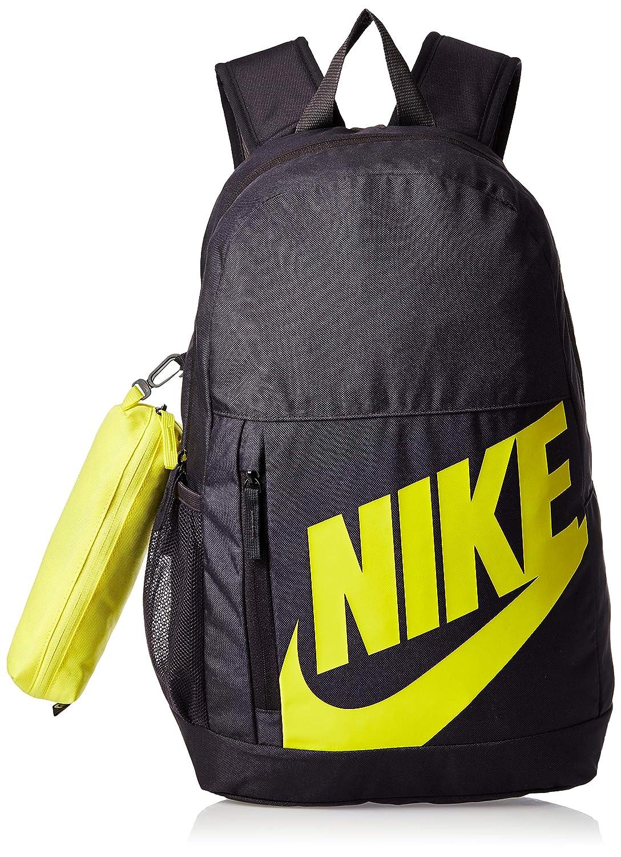 impresión métrico Comparar  Buy Nike 21 Ltrs Oil Grey/Thunder Grey/Dynamic Yellow School Backpack ( BA6030-080), medium at Amazon.in