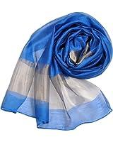 Wander Agio Women's Fashion Shade Large Shawl 55% Silk Scarf