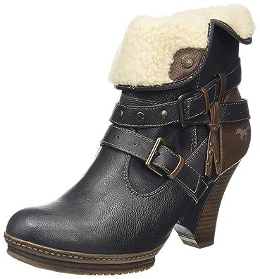 online store b45f8 f759a Mustang Damen Kurzschaft Stiefel