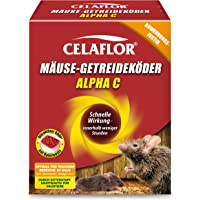 Celaflor Mäuse-Portionsköder Alpha C/P, Anwendungsfertiger, attraktiver Köder zur Bekämpfung von Mäusen mit innovativem Wirkstoff