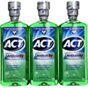 9-Pack Act Anticavity Fluoride Mouthwash Mint, 18 fl oz