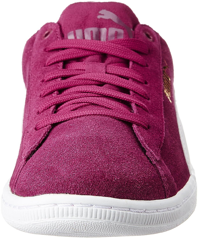 Rouge Vikkywnf6 De Tennis Chaussures Soft Puma Femme 12 redwhite 7AxY4Y