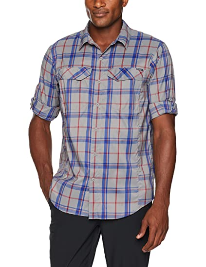 99ec73a86c1 Columbia Men's Silver Ridge Lite Plaid Long Sleeve Shirt, Boulder Large  Plaid, Small: Amazon.in: Sports, Fitness & Outdoors