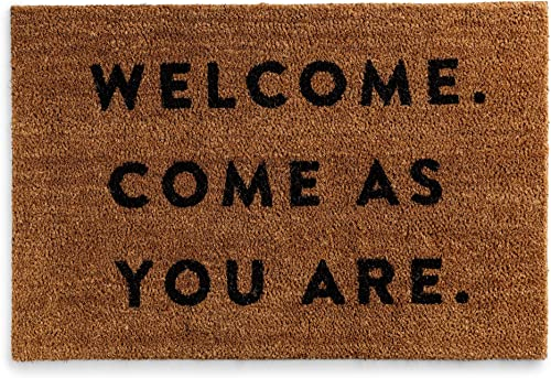 DaySpring – Candace Cameron Bure – Welcome. Come As You are. – Coir Doormat 24 x36 J4055