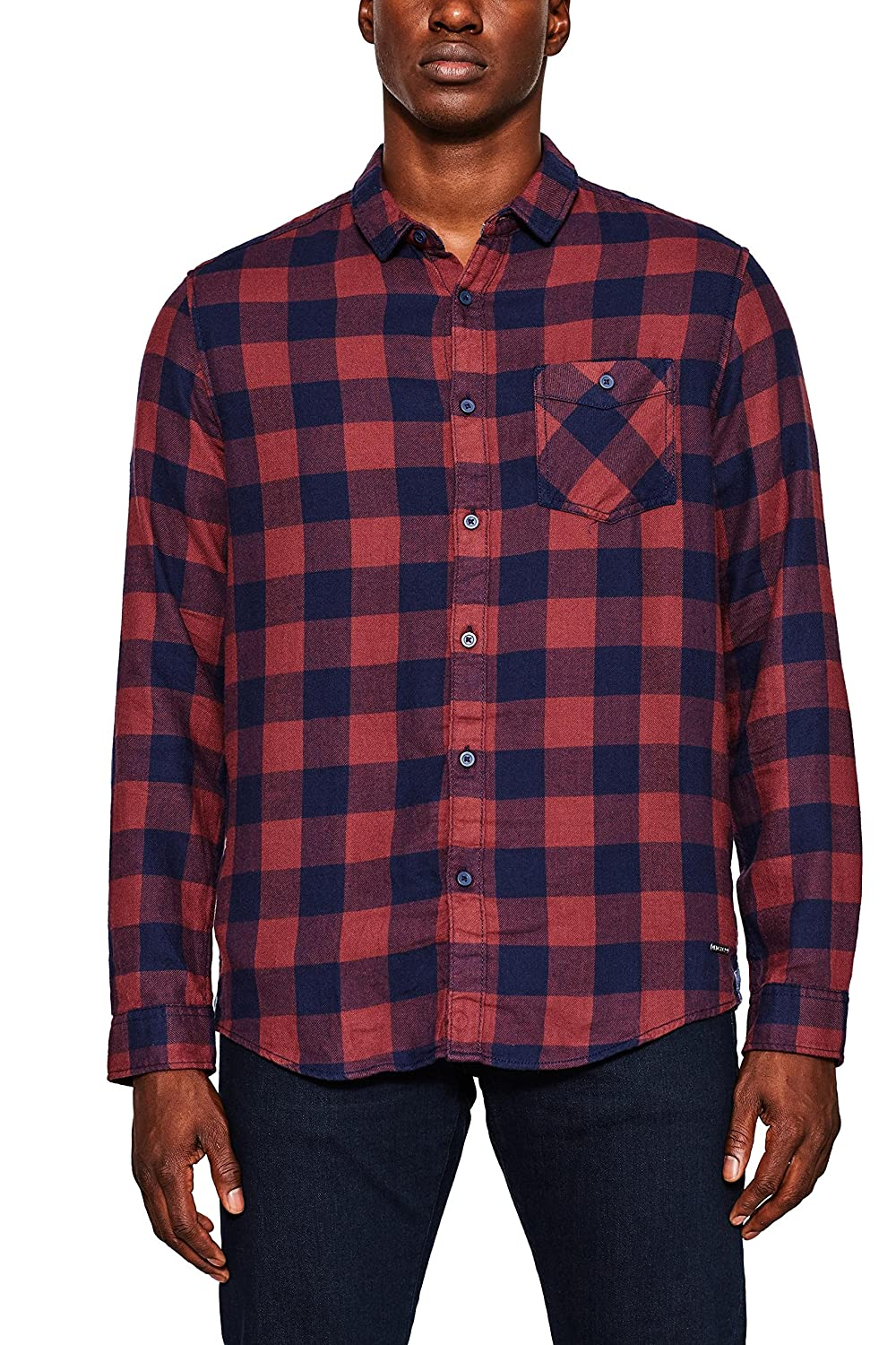 TALLA L. edc by Esprit Camisa Hombre Regular Fit