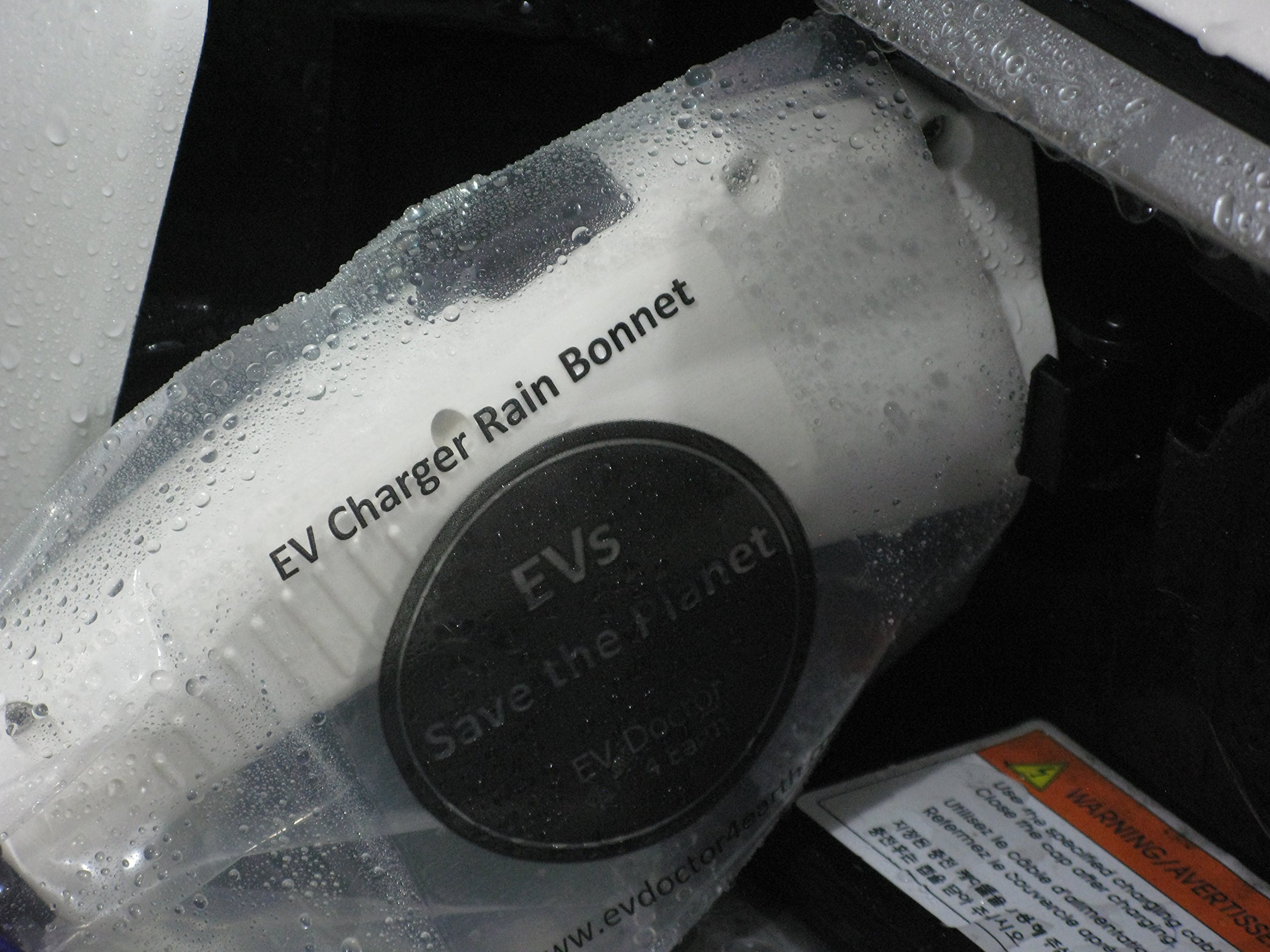 """Level 1 EVSE power adapter, EVPA 6-20R to 5-15P connects a 240V Level 2 Electric Vehicle Car Charger to a 120V outlet 14""""/20A for Dousida/EVFASTx3 etc BONUS:Rain Bonnet, EVs Save the Planet Sticker by EVDoctor (Image #3)"""