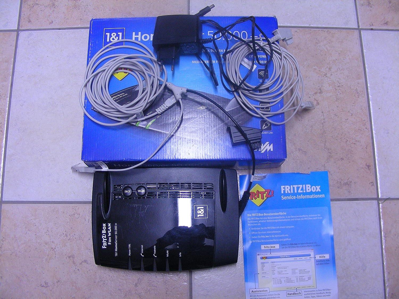 Avm Fritz Box Fon 7390 Wireless Router Black Computers Accessories