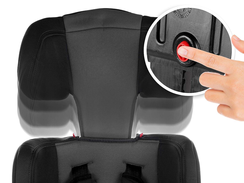 Autokindersitz Autositz Kinderautositz mit Extrapolster Kids 9-36 kg 1+2+3 ECE 4 Farben NEU KP0101BLK Kindersafety NEU ECE R44//04 gepr/üft Farben zur Auswahl 5-Punkte-Sicherheitsgurt Kopfst/ütze