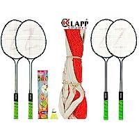 Klapp Zigma Steel Badminton Set (White)