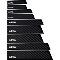 Professional Knife Edge Guards - 9 Piece Universal Blade Covers - Extra Strength, ABS Plastic and BPA-Free Felt Lining…