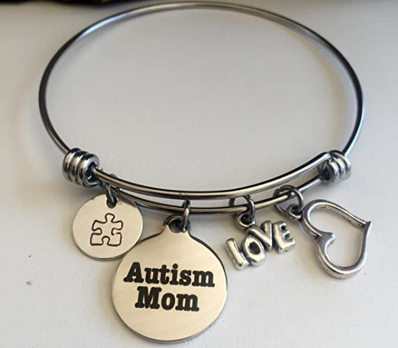 note jewelry unconditional lace less design autistic bracelet the dome not different for love autism collections charm cure photo phrase glass is large