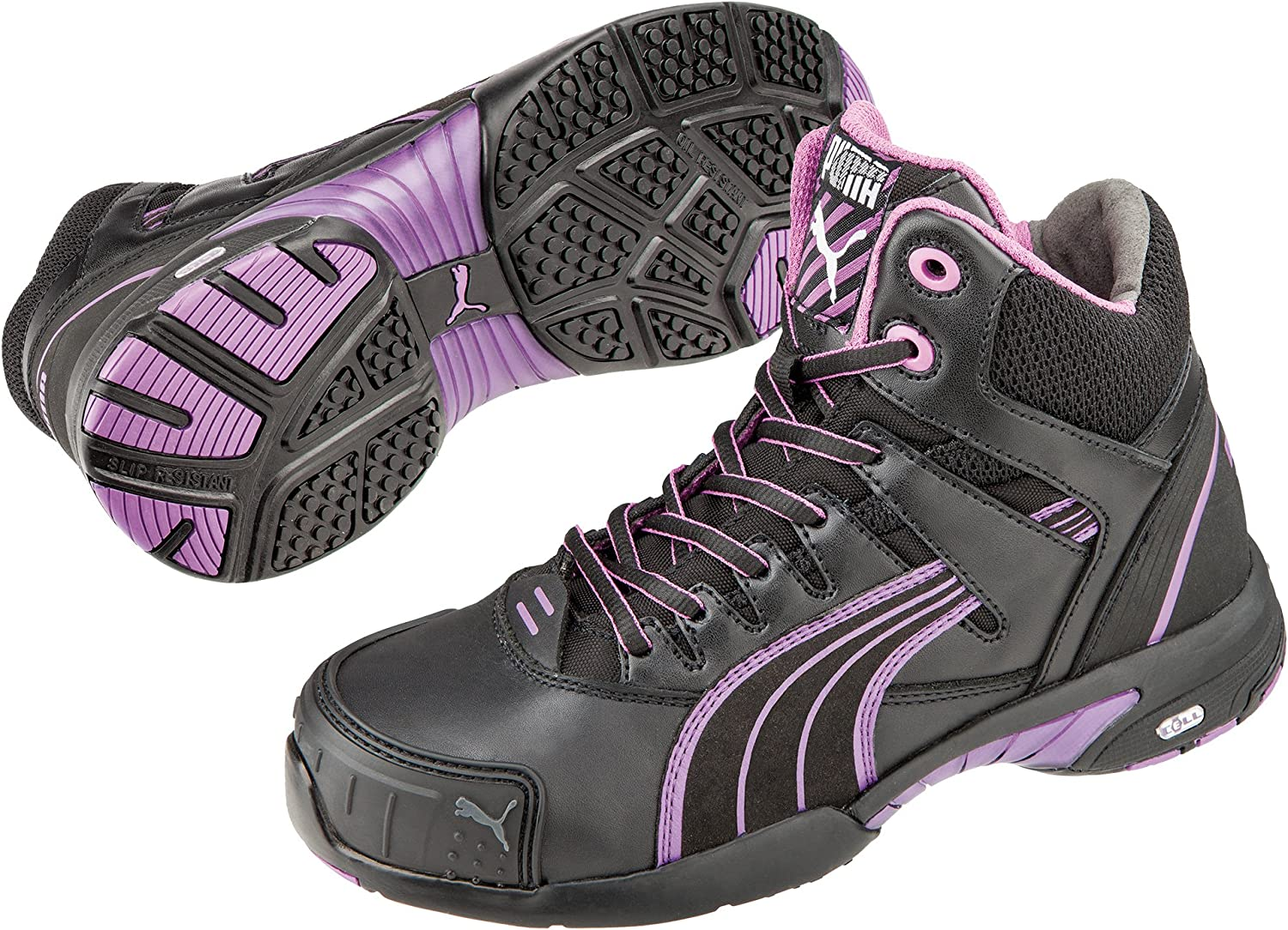 Chaussures Montantes de S/écurit/é Puma Safety Stepper Mid Femme