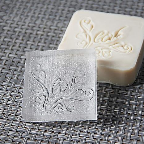 Custom Soap - Custom Diy Handmade Soap Stamp Clay Seal - Making Molds Dispenser Bars Stamps
