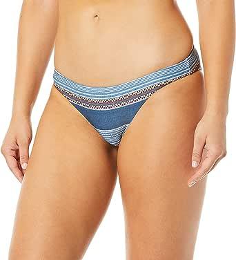 Rip Curl Womens Riversong Cheeky Bikini Bottom Bikini Bottoms - Blue