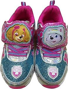 Paw Patrol Girls Light Up Sneaker Shoes