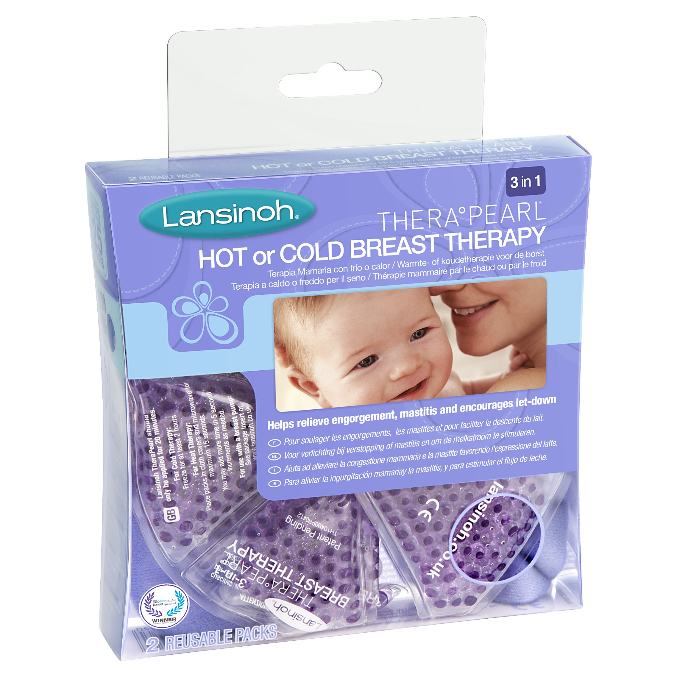 Lansinoh Therapearl 3-in-1 Breast Therapy for Breastfeeding mums