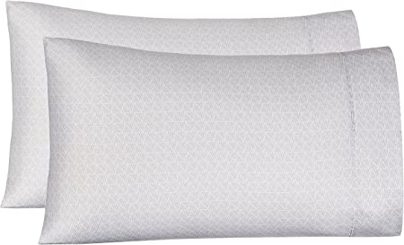 Amazon.com: AmazonBasics - Fundas de almohada de microfibra ...