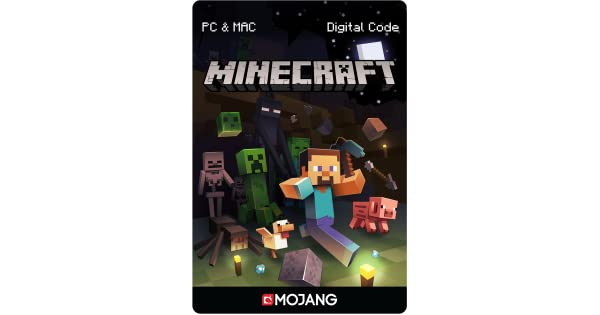 Amazon.com: Minecraft for PC/Mac [Online Game Code]: Video Games