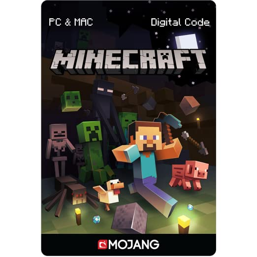 Amazon Com Minecraft Java Edition For Pc Mac Online Game Code Video Games