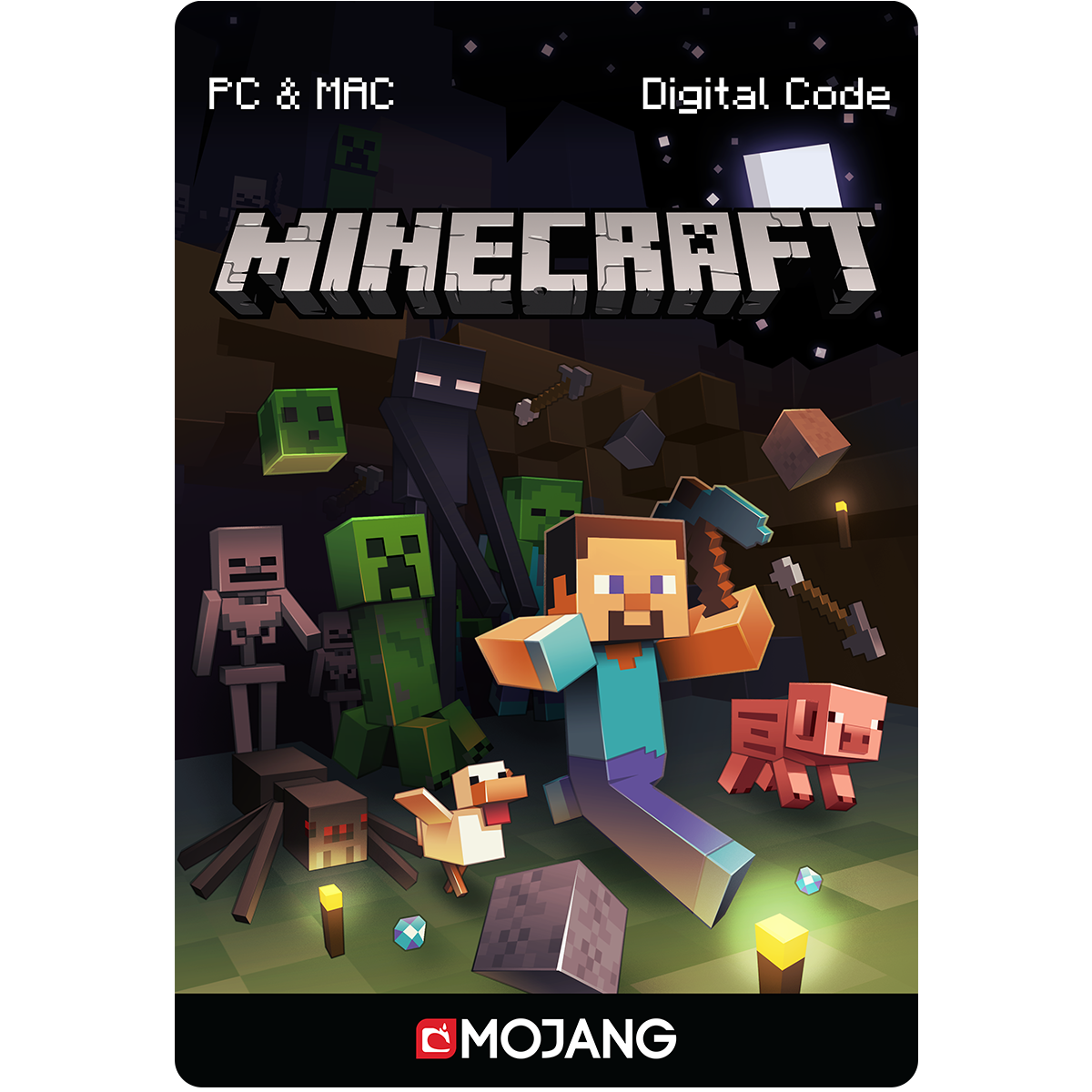 Card For Minecraft Pc Game : Minecraft for pc mac online game code import it all