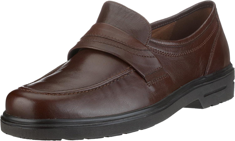 TALLA 38.5 EU X-Ancho. Sioux - Zapatos clásicos de Cuero para Hombre