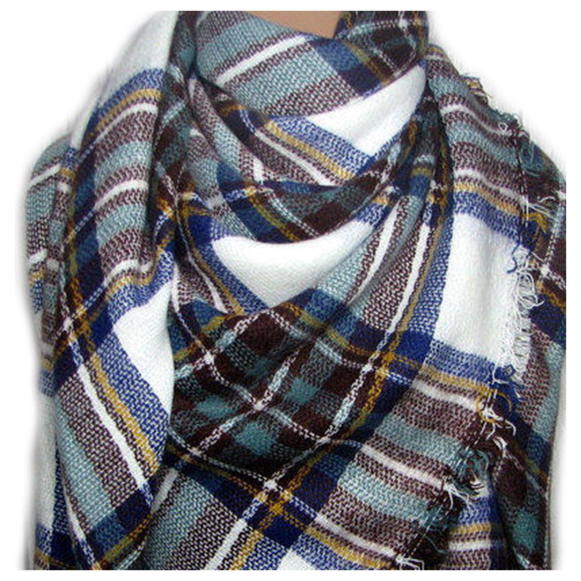 Scarfs for Women Shawls and Wraps, Head Wraps for Women, Plush Blanket, Plaid Blanket Scarf, Head Scarf for Women, Scarves, Head Wrap, Blanket Scarf, Plaid Scarf, Wraps for Women, Scarf for Women SAGE by VASTINI