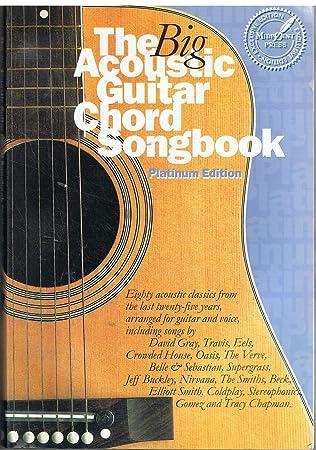 Amazon.com: The Big Acoustic Guitar Chord Songbook (Platinum Edition ...