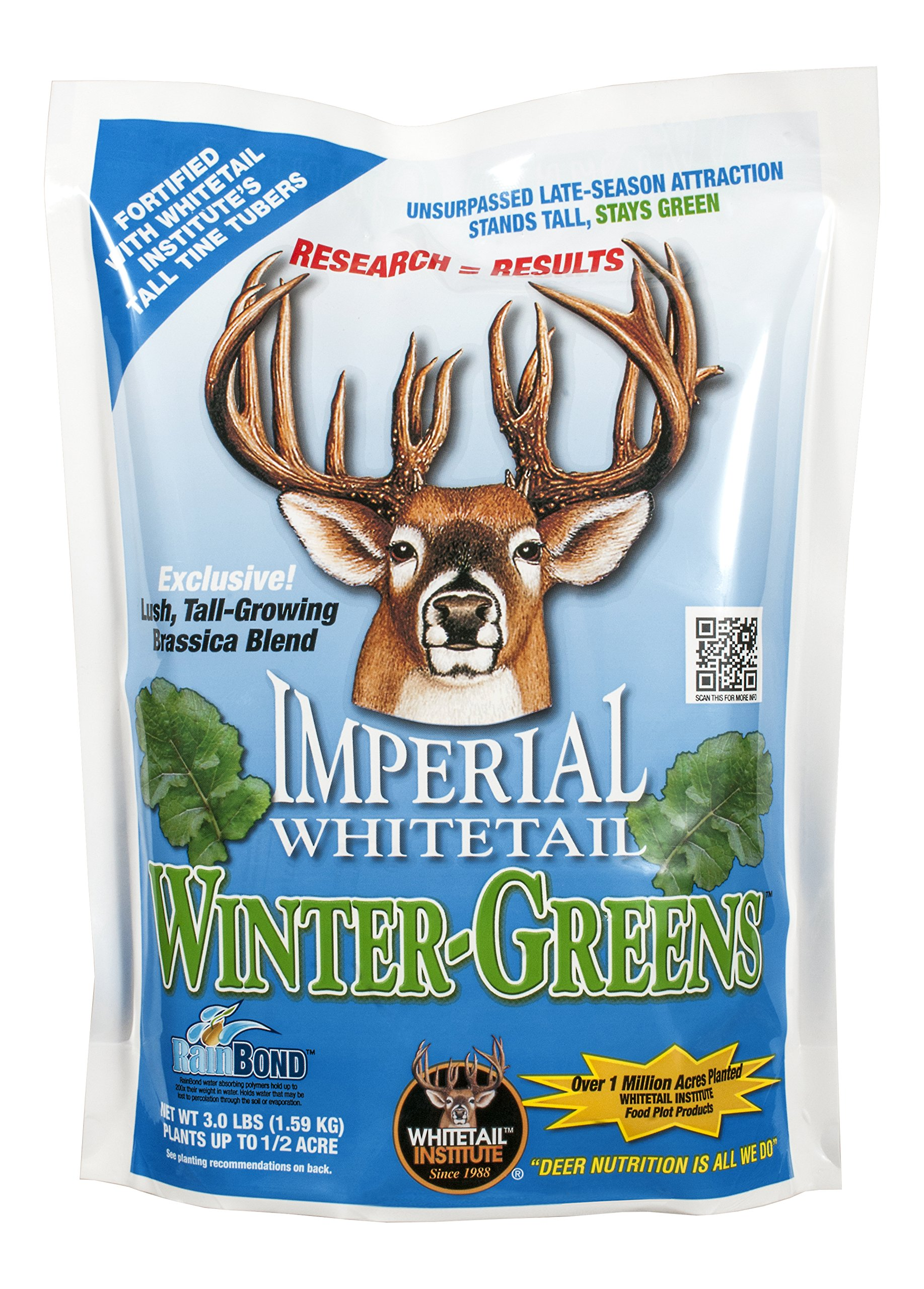Whitetail Institute Imperial Winter - Greens 3 - lb. Bag by Whitetail Institute