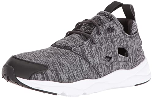 16137162005eb8 Reebok Women s Furylite Jersey Fashion Sneaker Black White 5 ...