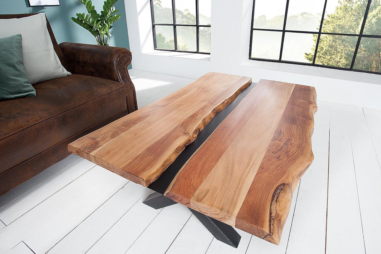 DuNord Design Sofá isch Root 120 cm de tronco Acacia Madera Maciza ...